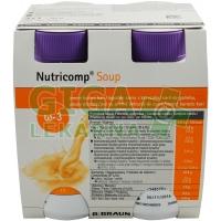 Nutricomp Soup Jemné kuřecí kari por sol 4x200ml