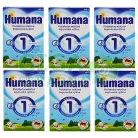 Humana 1 - 6x600g