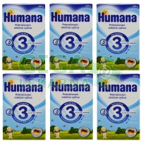 Humana 3 - 6x600g