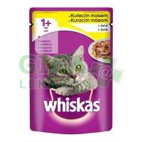 Whiskas kaps. - s kuřecím masem v želé 100g