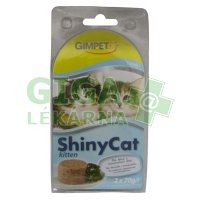 Gimpet Shiny cat konz. Junior - tuňák 2 x 70g