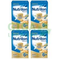 Nutrilon mléčná kaše piškotová 225g 4-pack
