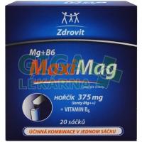 Zdrovit Hořčík 375mg + B6 granulát 20 sáčků