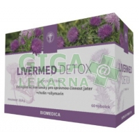 Livermed Detox 60 tobolek