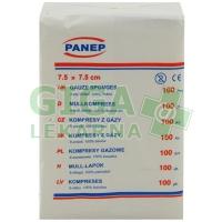 Kompresy z hydrofilní gázy 7.5x7.5cm/100ks Medical, Panep