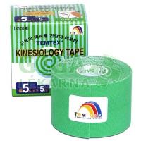 Tejpovací páska TEMTEX kinesiotape zelená 5cm x 5m
