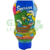 Šmoulové šampon/sprchový gel 2v1 500ml