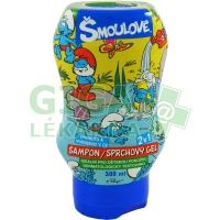 Šmoulové šampon/sprchový gel 2v1 300ml