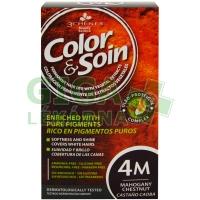 Color & Soin 4M - Mahagonová hnědá 135ml
