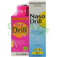 PromoPack Nasodrill+PetitDrill+reflex.páska růžová