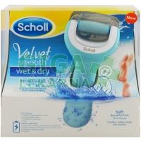 Scholl Velvet Smooth Elektrický pilník na chodidla do vody
