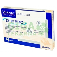 Effipro Spot-on Dog L sol 4x2,68ml (fialový 20-40kg)
