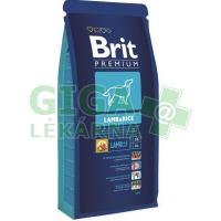 Brit Premium Dog Lamb & Rice 1kg