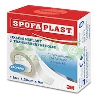3M Spofaplast Náplast fixační z transparentní folie 431 5mx12.5mm