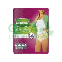 Inkont.kalh.abs.DEPEND Super XL pro ženy 9ks