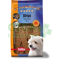 Nobby pamlsek - StarSnack Strips Lamb + Rice 20ks