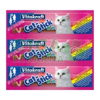 Vitakraft Stick mini cat - treska + tuňák 18g, 3ks