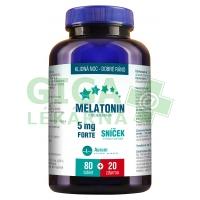 Melatonin 5mg FORTE 80+20 tablet ZDARMA