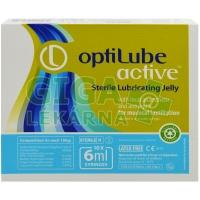 Gel lubrikační OptiLube Active stříkačka 6ml