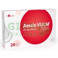 AESCIN 30mg 20 tablet VULM