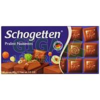 Schogetten nugátová čokoláda 100g