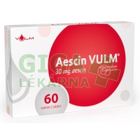 AESCIN 30mg 60 tablet VULM