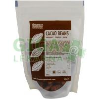 Dragon superfoods Kakaové boby celé nepražené 200g BIO