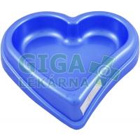 Miska plastová srdce velké