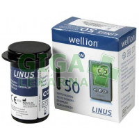 Proužky diagnostické WELLION Linus 50ks