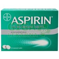Aspirin 500mg 40 obalených tablet
