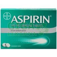 Aspirin 500mg 8 obalených tablet