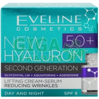 EVELINE BIO Hyaluron 4D day+night cream 50+ 50ml