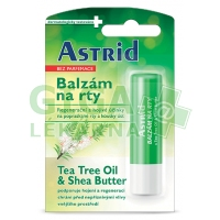 Astrid balzám na rty Tea Tree Oil+Shea Butter 4.8g