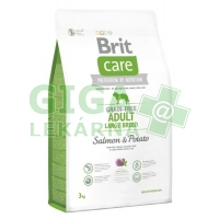 Brit Care Grain Free Dog Adult Large Breed S & P 3kg