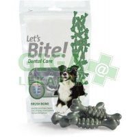 Brit Care DOG Let´s Bite! Dental Care Brush Bone 90g