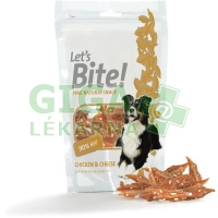 Brit Care DOG Let´s Bite! Chicken Cheese 80g