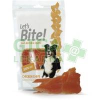 Brit Care DOG Let´s Bite! Chicken Chips 80g