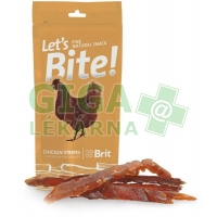 Brit Care DOG Let´s Bite! Chicken Stripes 30g
