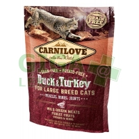 Carnilove Cat Adult Duck & Turkey Large B.Grain Fr 0,4kg