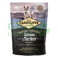 Carnilove Dog Puppy Salmon & Turkey Grain Free 1,5kg