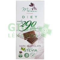 MILMEX Dark Chocolate 290 with Stevia 80g