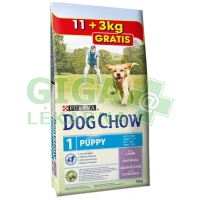 Purina Dog Chow Puppy Lamb+Rice 11 + 3kg