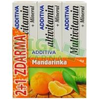 Sada Additiva MM 2+1 mandarinka  1 sada