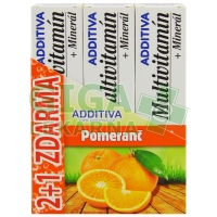 Sada Additiva MM 2+1 pomeranč  1 sada