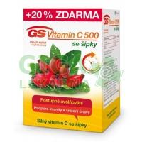 GS Vitamin C500 + šípky 100+20 tablet