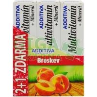 Sada Additiva MM 2+1 broskev  1 sada