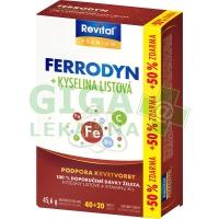 Revital Ferrodyn+k.listová Premium tbl.40+20zdarma