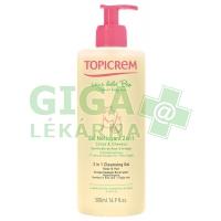 Topicrem 2v1 mycí gel pro miminka 500ml