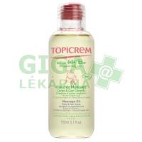 Topicrem organický masážní olej 150ml