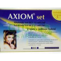 HBF Těhotenský test Axiom Set hCG 2ks